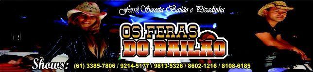 OS FERAS DO BAILÃO OFICIAL