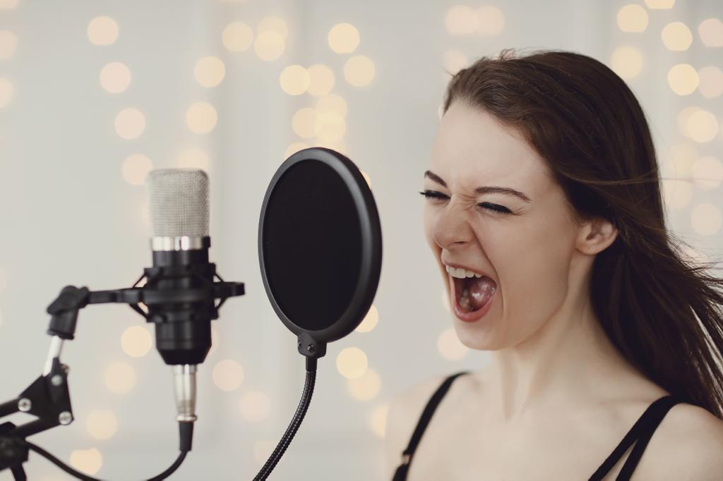 Speech Level Singing Exercises é um aplicativo para aulas de canto