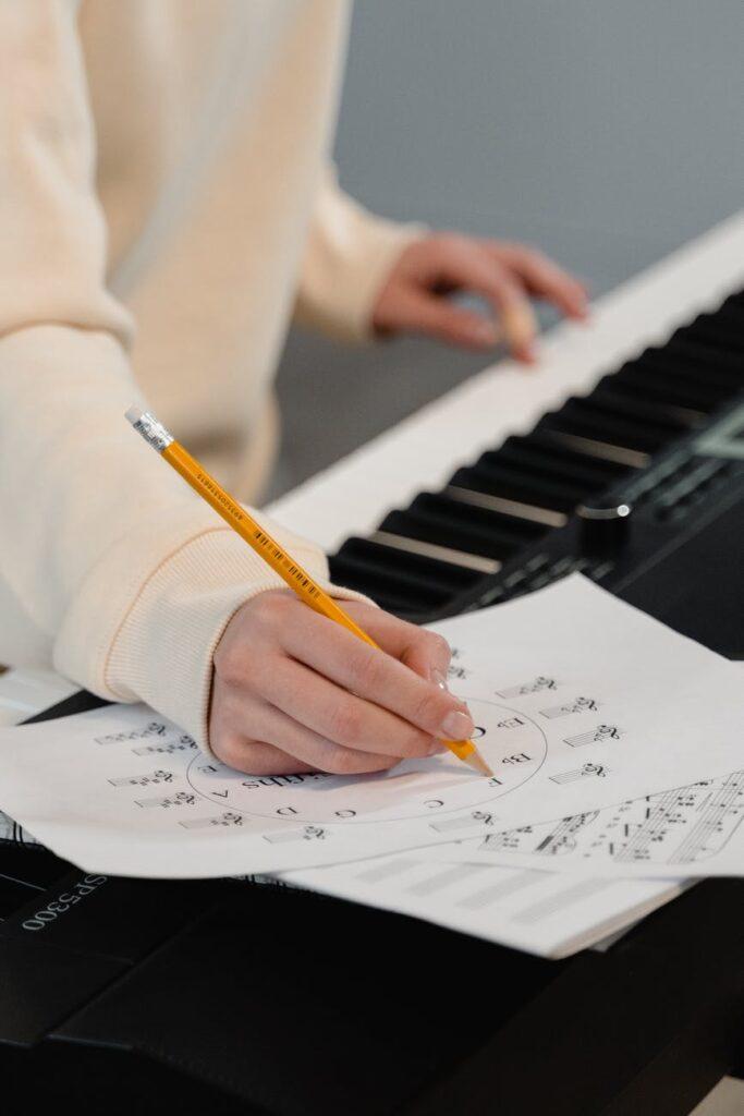 A rearmonização também pode ser usada no teclado