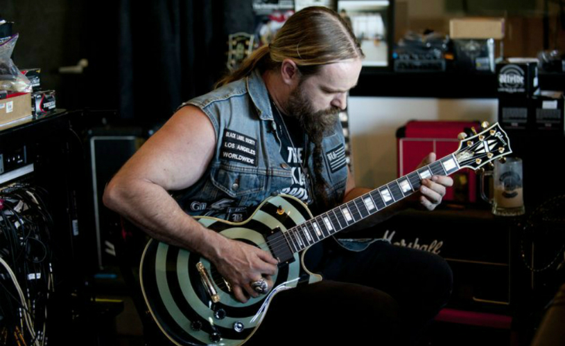 Zakk Wylde é especialista em shred guitar