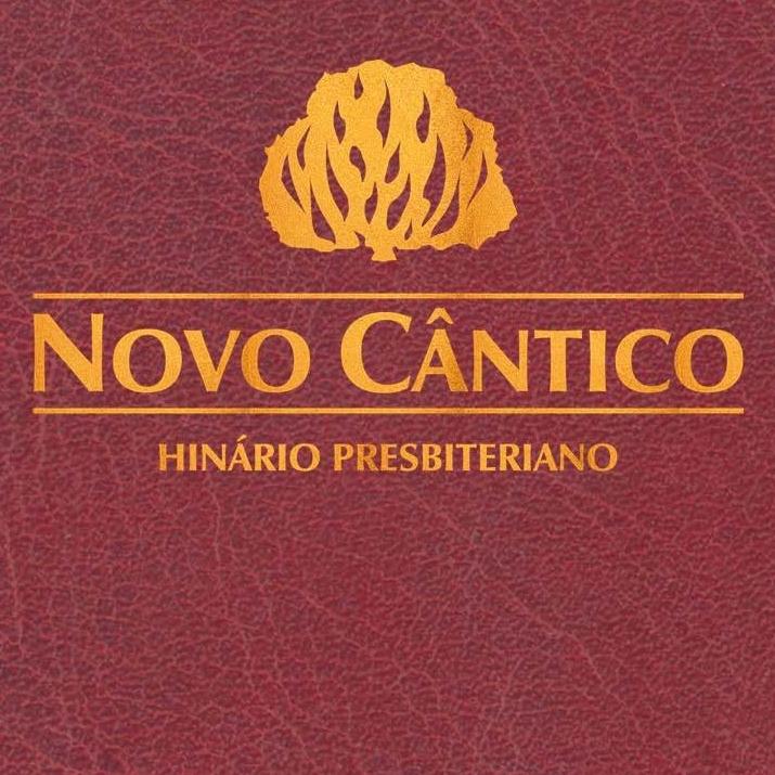 Capa do Hinário Novo Cântico, livro de hinos cristãos