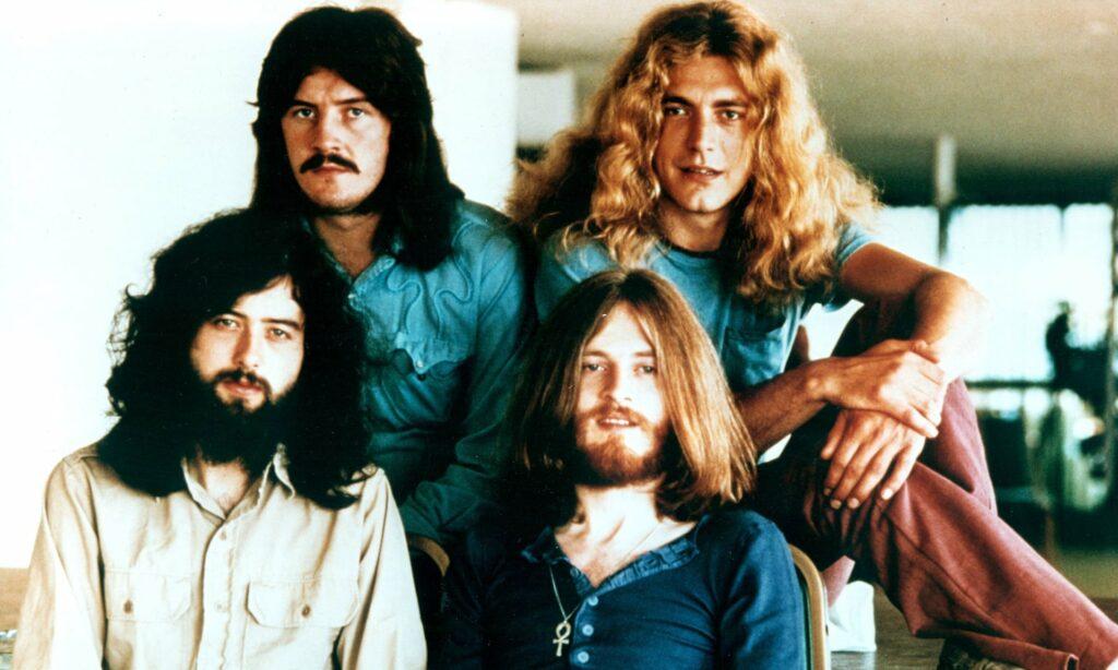 Led Zeppelin em algum momento da década de 70