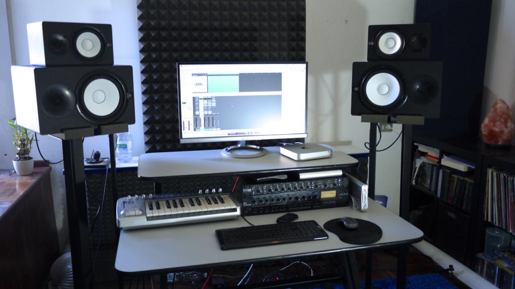 Euipamentos de home studio: set completo