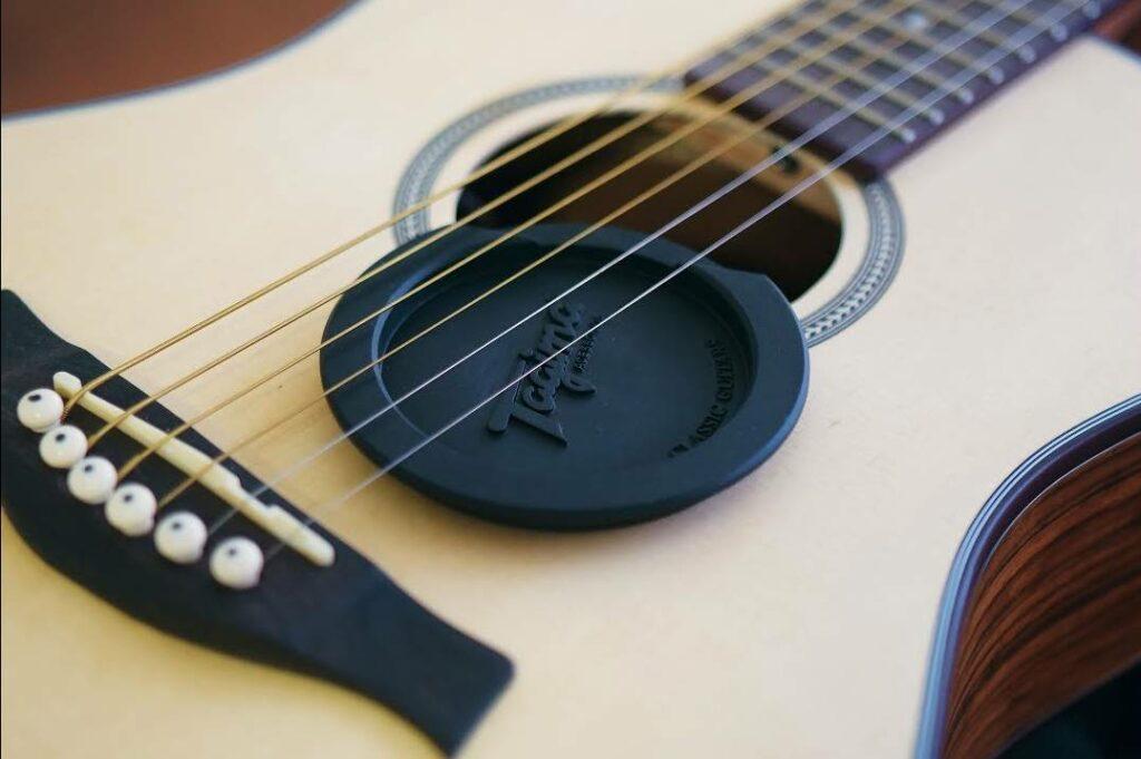 supresor de guitarra acústica