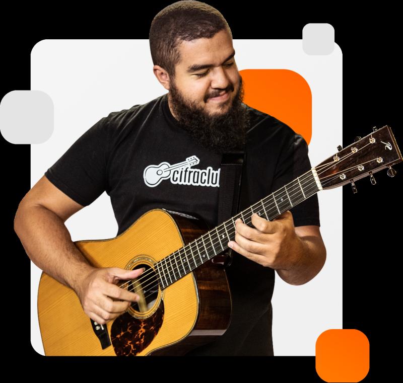Gustavo Fofão já gravou vários vídeos de violão fingerstyle