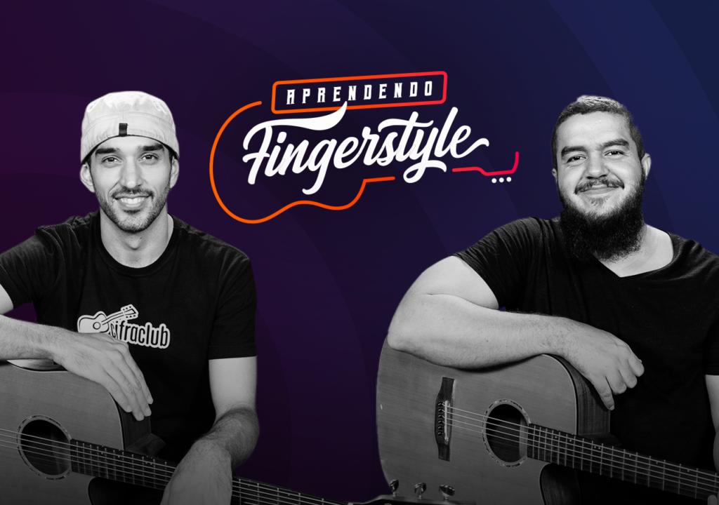 Leo Eymard e Gustavo Fofão pilotam o curso de violão fingerstyle do Cifra Club