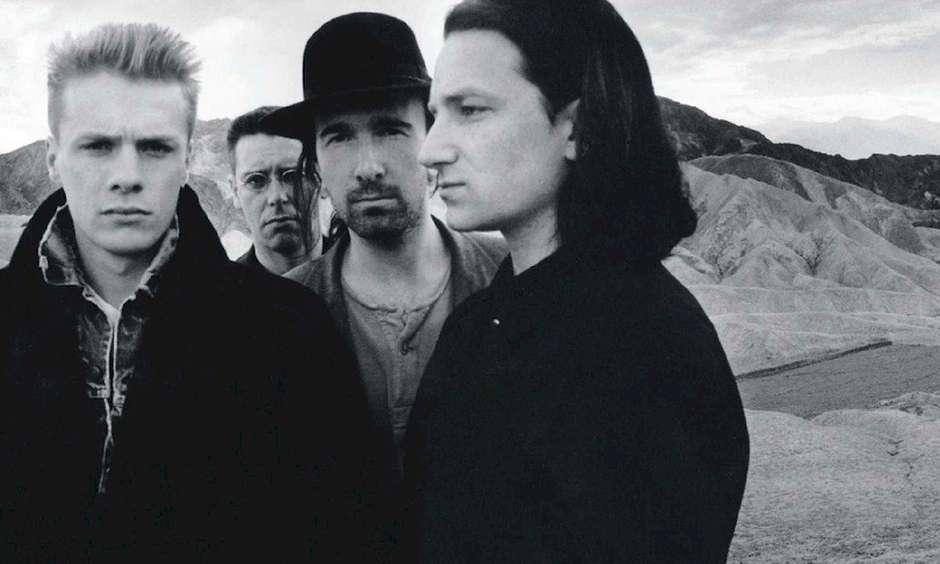 Capa do disco The Joshua Tree, trabalho que reúne as melhores músicas do U2
