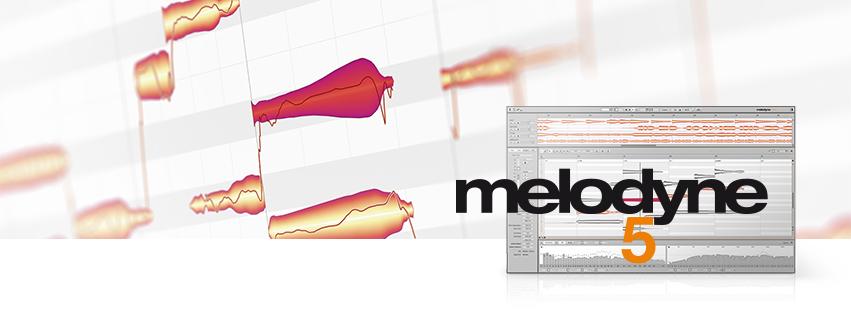 Interface do Melodyne, ferramenta usada para afinar a voz