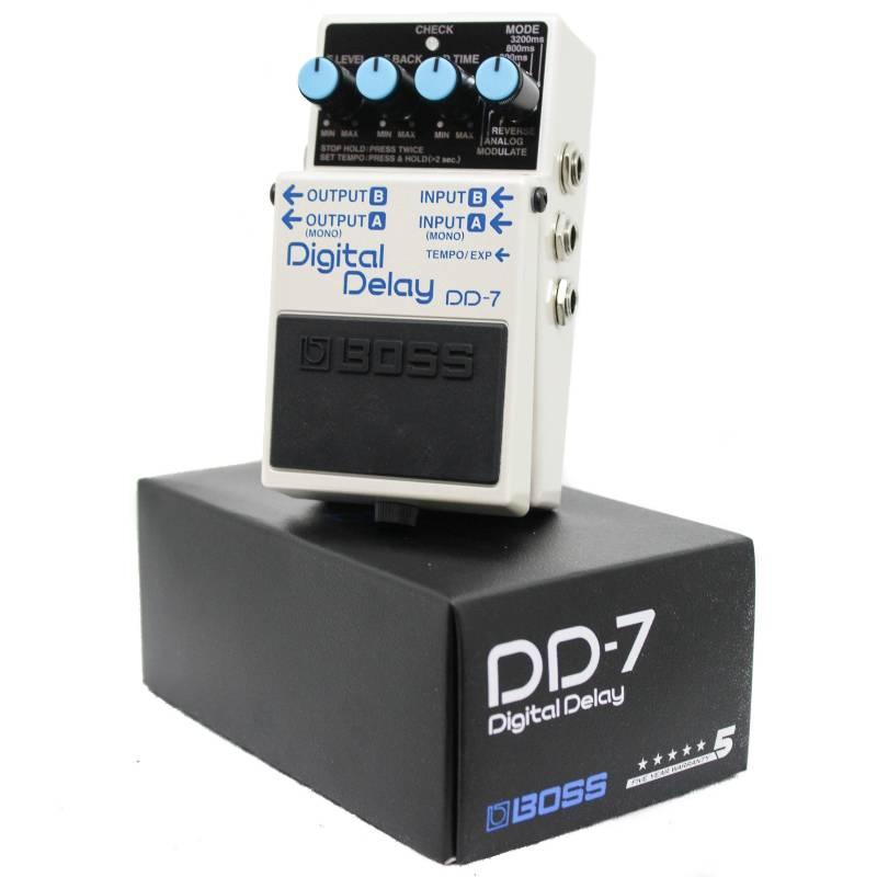 O Boss Digital Delay DD-7, um dos pedais de guitarra mais importantes