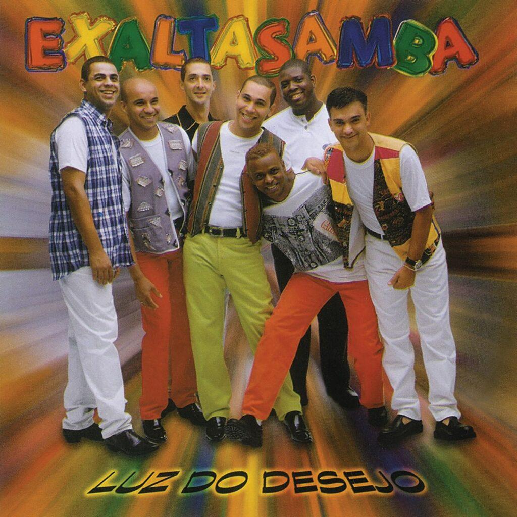 Capa do disco Luz do Desejo, trabalho que apresentou as melhores músicas do Exaltasamba