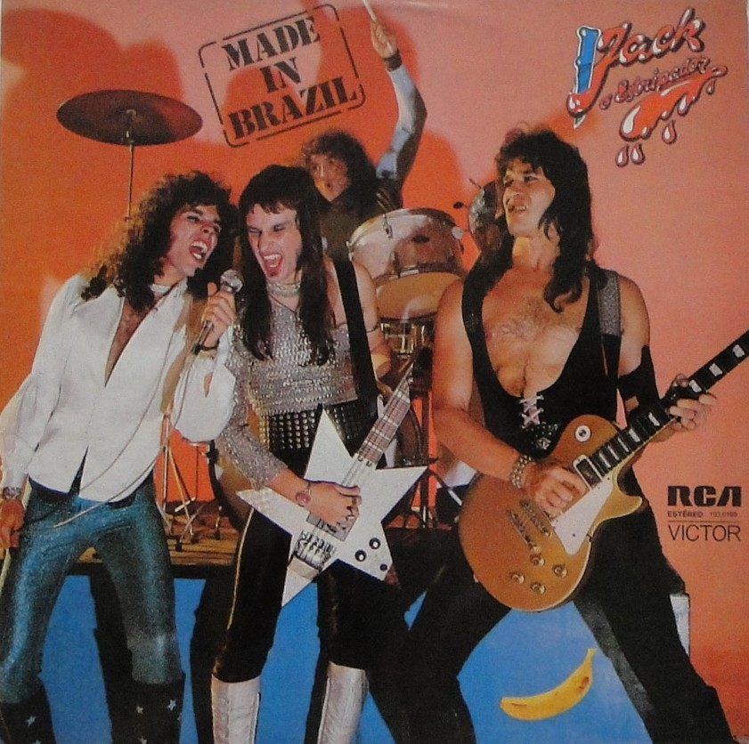 Capa do disco Jack o Estripador, da Made in Brazil, banda de rock nacional dos anos 70