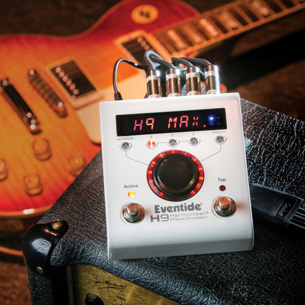 Eventide H9, a mais compacta entre as melhores pedaleiras de guitarra