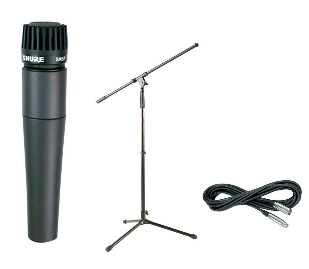 Shure SM 57, microfone dinâmico