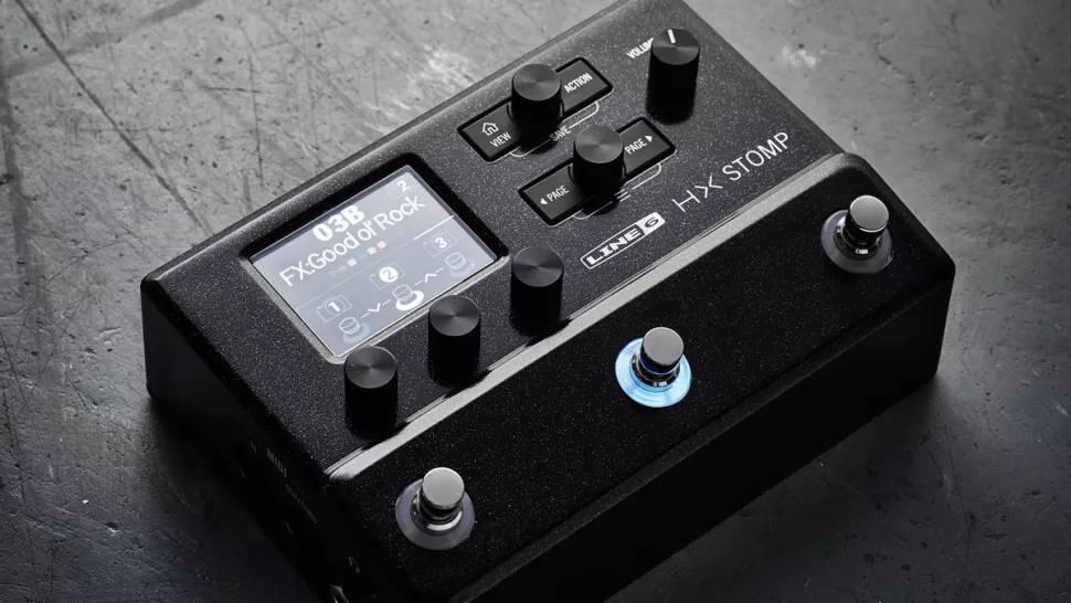 Line 6 HX Stomp, um dos melhores modelos de pedaleiras de guitarra