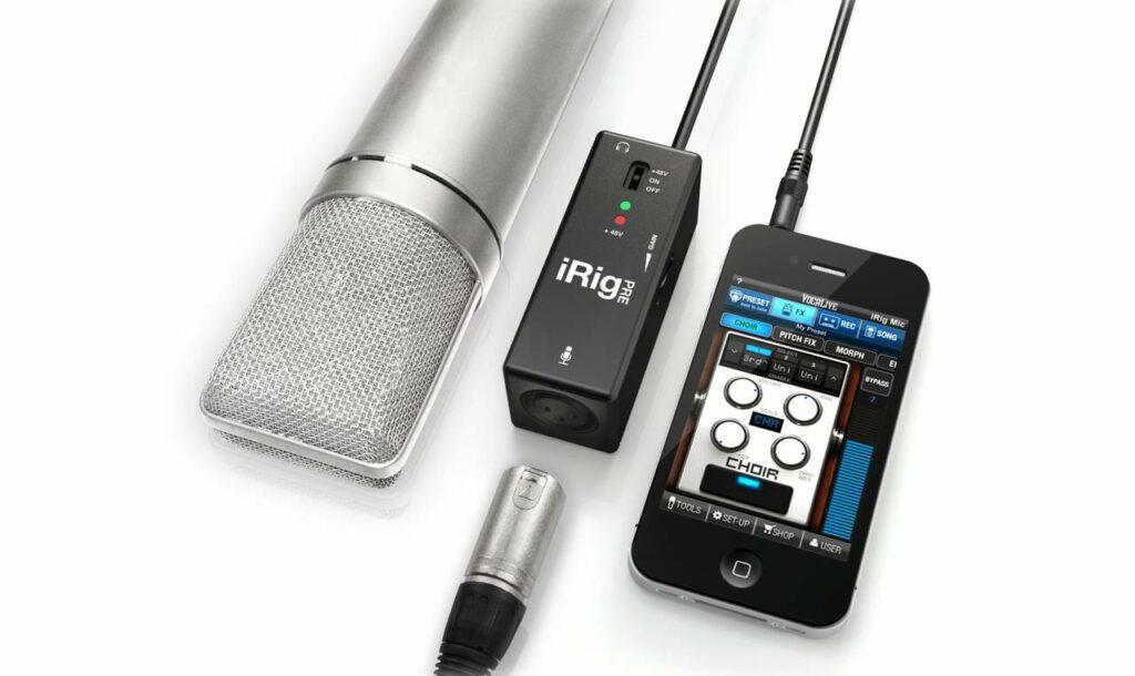 Interface iRIG, equipamento essencial para produzir música no celular