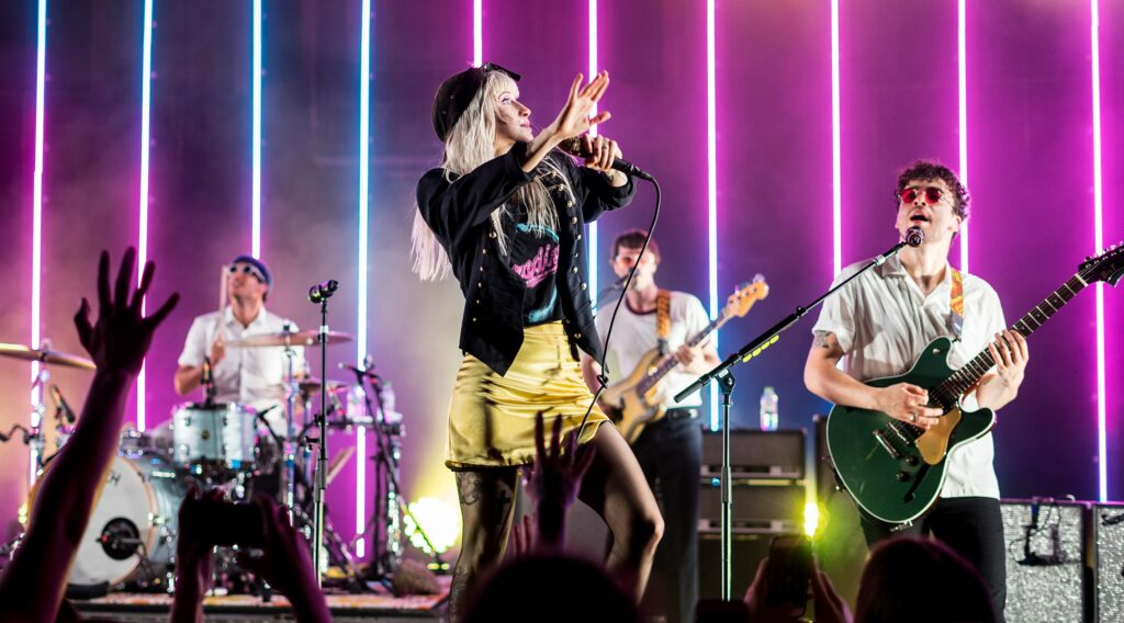 Paramore está entre as principais influências emo