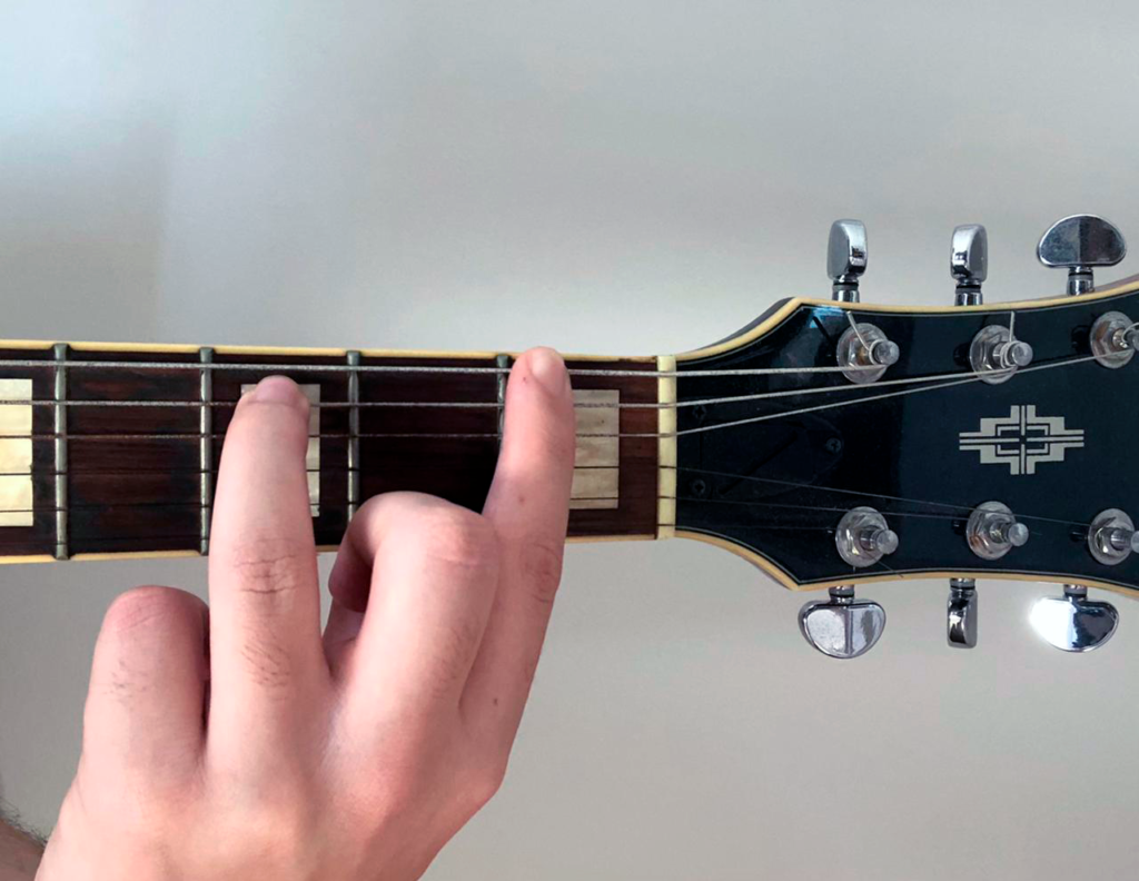 Forma básica de power chord