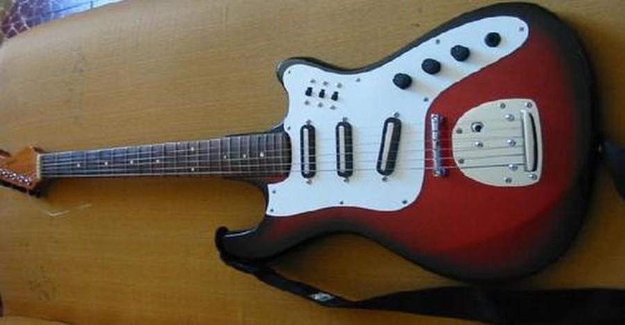 Tonante Finder, modelo clássico de guitarra