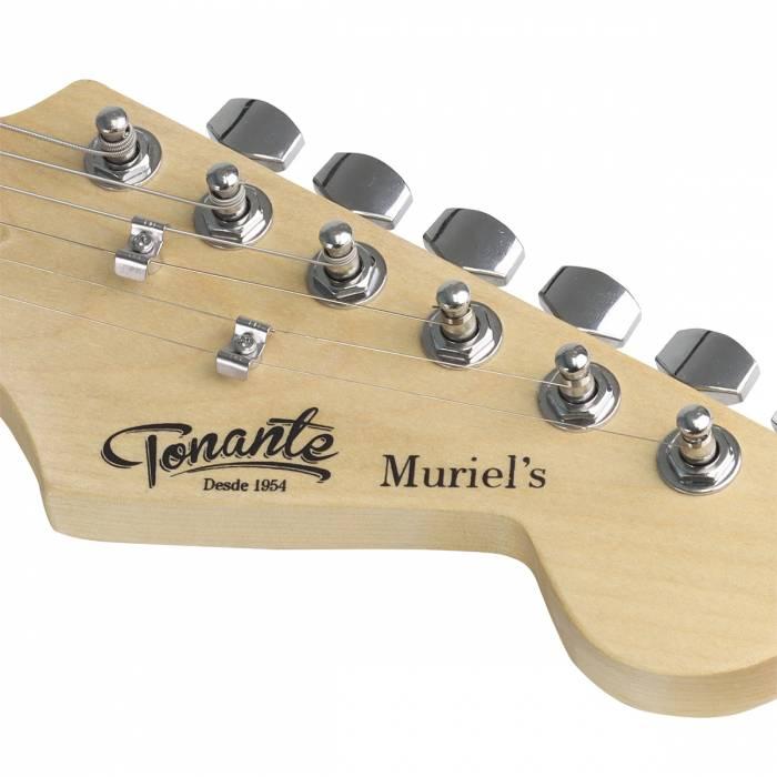 Headstock de guitarra do nova fase da fabricante Tonante