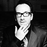 Imagem do artista Elvis Costello