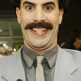 Imagem do artista Borat