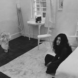 Imagem do artista Yoko Ono