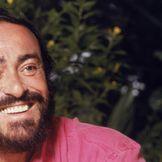 Imagem do artista Luciano Pavarotti