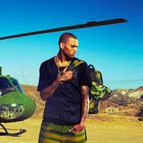 Imagem do artista Chris Brown