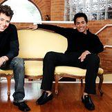 Imagem do artista Hugo e Tiago