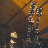 Imagem do artista Jimmy Page