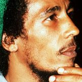 Imagem do artista Bob Marley