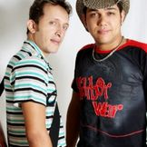 Imagem do artista Joel e Junior
