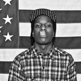 Imagem do artista A$AP Rocky