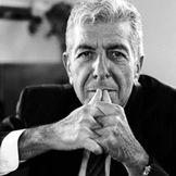 Imagem do artista Leonard Cohen