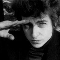 Foto do artista Bob Dylan
