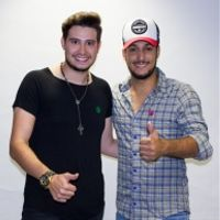 Foto do artista Bruno e Barretto