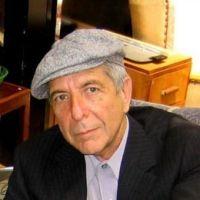 Foto do artista Leonard Cohen