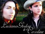 Franciely e Caroline