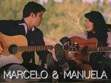 Foto de Marcelo e Manuela