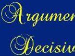 Argumento Decisivo