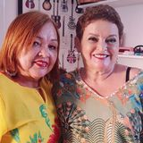 Foto de Isabel Cunha e Wanda Cunha