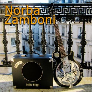 "Foto da capa: Norba Zamboni ""In Paris"""