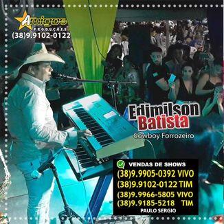 Foto da capa: Edimilson Batista CD Do  DVD 2020 Ao Vivo Clube Cabos e Soldados Montes Claros/MG