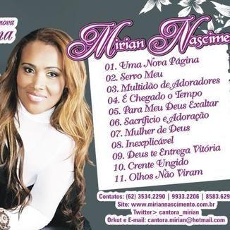 Foto da capa: CD UMA NOVA PAGINA
