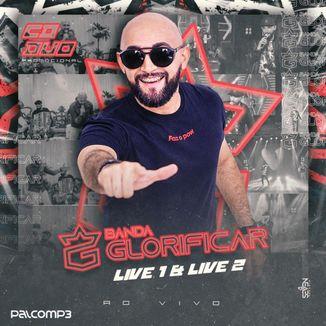 Foto da capa: CD PROMOCIONAL DUO - LIVE 1 E 2