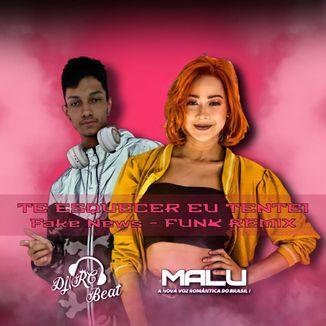 Foto da capa: Te Esquecer Eu Tentei - Fake News (Funk Remix)