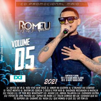 Foto da capa: CD ROMEU PROMOCIONAL DE MAIO 2021