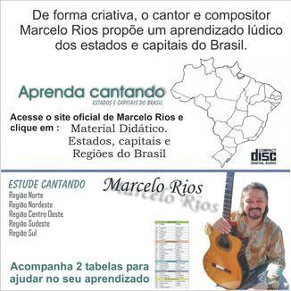 Foto da capa: Estados, capitais e regiões do Brasil