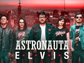 Astronauta Elvis