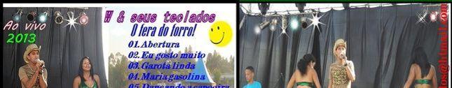 W & SEUS TECLADOS O FERA DO FORRO